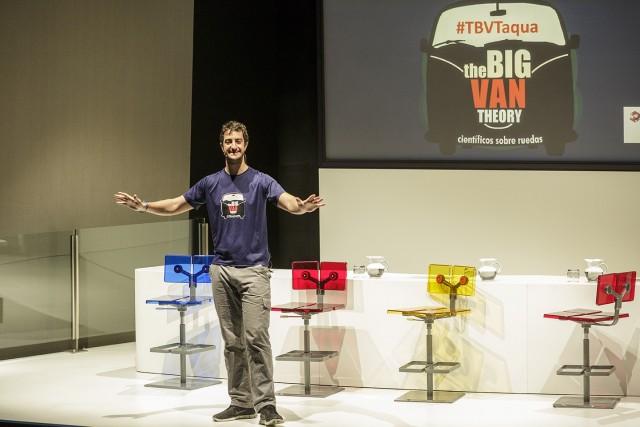 cientficos sobre ruedas Big Van