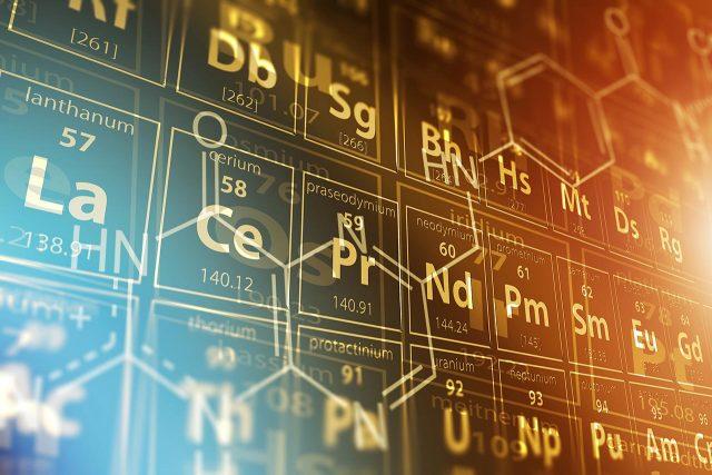 tabla periódica, química