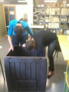Montaje compostador