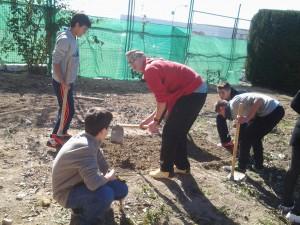Trabajando la tierra