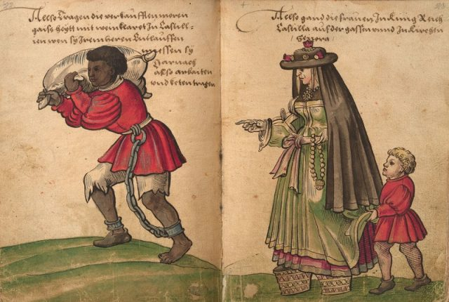 esclavitud, conferencia, historia, España